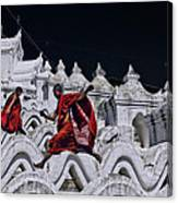 Flying Monks 2 Canvas Print