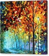 Fog Alley Canvas Print