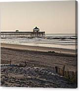 Folly Beach Morning Canvas Print