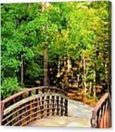 Folsom Bridge At Furnace Creek Canvas Print