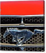 Ford Mustang Badge Canvas Print