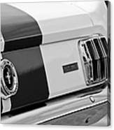 1966 Ford Shelby Mustang Gt 350 Taillight Canvas Print