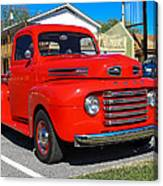 Ford Truck Canvas Print