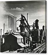 Ford's River Rouge Plant Canvas Print