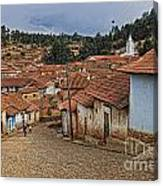 forgotten village Totora Canvas Print