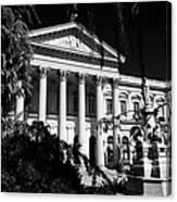former national congress building Santiago Chile Canvas Print
