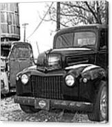 Forties Ford Pickup Canvas Print