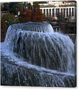 Fountain At Finlay Park Canvas Print