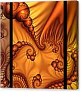 Fractal Triptychon Canvas Print