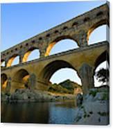 France, Avignon The Pont Du Gard Roman Canvas Print