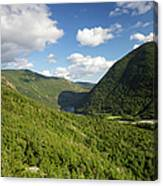 Franconia Notch State Park - White Mountains New Hampshire Usa  Canvas Print