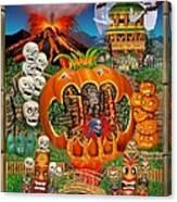 Freaky Tiki Tombs Canvas Print