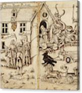 French Early 16th Century Canvas Print