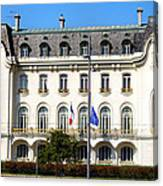 French Embassy In Vienna Canvas Print