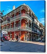 French Quarter Afternoon Canvas Print
