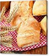 Freshly Baked Bread  Canvas Print