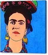 Frida Canvas Print