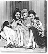 From Left, Maxene Andrews, Patty Canvas Print