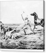 Frontiersman, 1858 Canvas Print