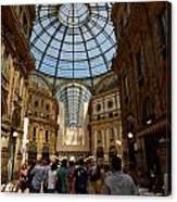 Galleria Vittorio Emanuele. Milano Milan Canvas Print