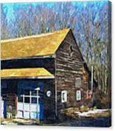 Garage 1 Canvas Print