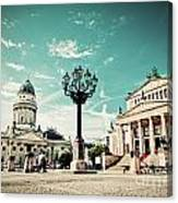 Gendarmenmarkt In Berlin Germany Canvas Print