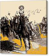 General Pancho Villa At Ojinaga A Military Triumph 1916-2008 Canvas Print