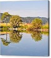 George Town Lake Reflections Canvas Print