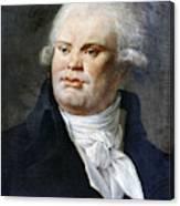 Georges-jacques Danton (1759-1794) Canvas Print