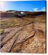 Geothermal Field Canvas Print