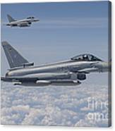 German Eurofighter Typhoon Jets Canvas Print