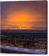 German Sunrise Canvas Print
