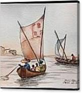 Ghana Ganvie Canvas Print