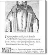 Girolamo Zanchi (1516-1590) Canvas Print