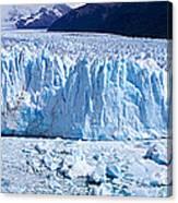 Glacier, Moreno Glacier, Argentine Canvas Print