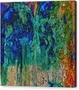 Glass Bottles Canvas Print