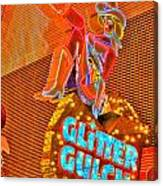Glitter Gulch  Canvas Print