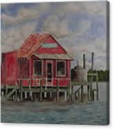Goodyear Fish House #2 Canvas Print