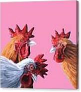 Gossip Girls Canvas Print