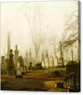 Gothic Autumn Morning Canvas Print