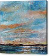 Gps Sunrise Canvas Print