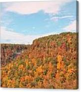 Grand Canyon Of The East Canvas Print