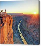 Grand Canyon, Toroweap Lookout Canvas Print