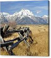Grand Teton Nat'l Park Canvas Print