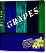 Grape Farm Canvas Print
