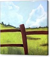 Grass Is Greener Canvas Print