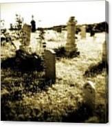 Graveyard 4724 Canvas Print