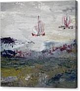 Gray Skies Canvas Print