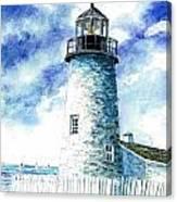 Great Lakes Light II Canvas Print