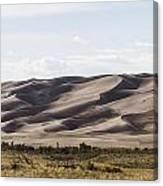 1 Great Sand Dunes Panorama Canvas Print